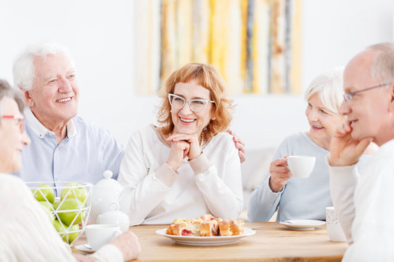 Benefits of Social Life to the Elderly